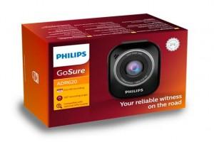 Новинка от Philips - видеорегистратор высокой четкости GoSure ADR620