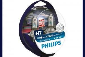 Лампы Philips Racing Vision - лучшая покупка для безопасного вождения!