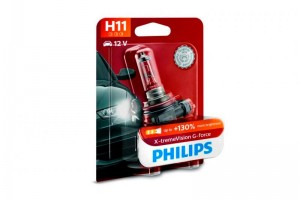 Новые галогенные лампы в семействе Philips X-tremeVision G-force