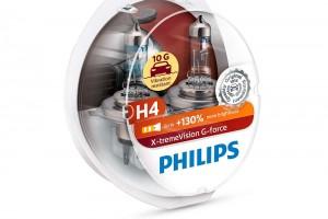 Новинка - галогенные лампы Philips X-treme Vision G-force для головного света! Скоро в продаже