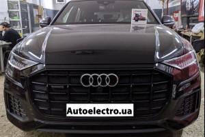 Audi Q8 - установка автосигнализации