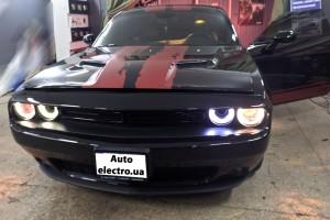Dodge Challenger - установка автосигнализации с автозапуском