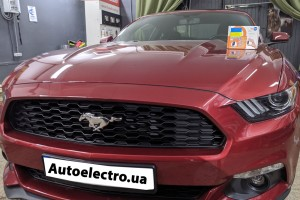 Ford Mustang - установка иммобилайзера