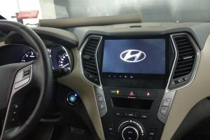 Hyundai Santafe - установка штатной магнитолы