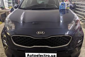 KIA Sportage - установка автосигнализации