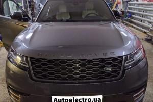 Range Rover Velar - установка автосигнализации и замка капота