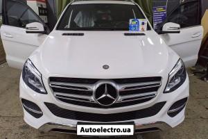 Mercedes GLE - установка автосигнализации