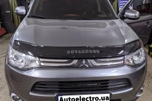 Mitsubishi Outlander - установка автосигнализации с автозапуском