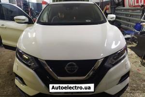 Nissan Qashqai - установка штатной магнитолы на Android и камеры заднего и переднего вида