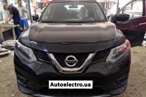 Nissan Rogue - установка автосигнализации с автозапуском