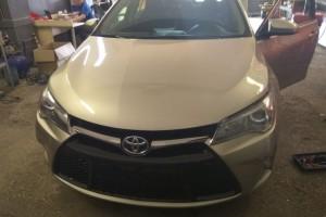 Toyota Camry V50 - установка автосигнализации с автозапуском