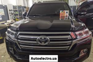 Toyota Camry LC200 - установка автосигнализации