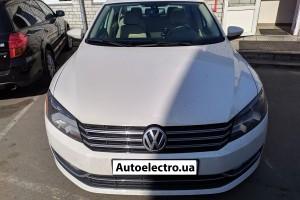 VW Passat B7 USA - установка автосигнализации