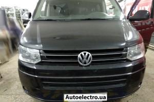 VW Caravelle T6 - установка биксеноновых линз Hella 3R