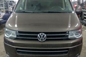 VW Multivan T6 - установка камеры заднего вида
