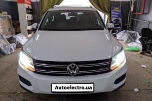 VW Tiguan - установка автосигнализации