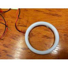 Светодиодные ангельские глазки для масок G5 LED 80 мм (матовые)