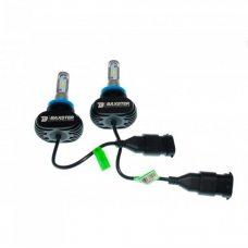 Светодиодные лампы H8, H9, H10, H11 6000K Baxster S1