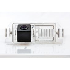 Камера заднего вида для Hyundai i10 Fighter CS-HCCD+FM-04