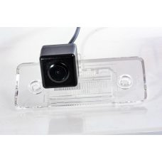 Камера заднего вида для Skoda Fabia 2010+ Fighter CS-HCCD+FM-16