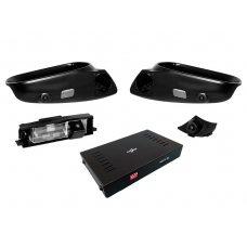 Система кругового обзора для штатной установки на Toyota RAV4 2009-2013 Gazer CKR4400-XA3