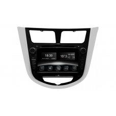 Штатная магнитола Hyundai Accent (RB) Gazer CM5007-RB