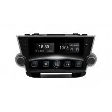 Штатная магнитола Toyota Highlander (XU40) Gazer CM6510-XU40