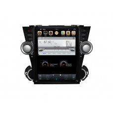 Штатная магнитола для Toyota Highlander (XU40) SUV 2007-2014 Gazer CM7012-XU40