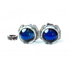 Биксеноновые линзы Hella 3R Blue Glass