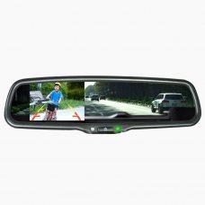 """Зеркало заднего вида с монитором 4.3"""" Prime-X 043/102 + 50% скидка на камеру"""