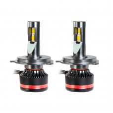Светодиодные лампы H4 MLux Red Line, 45 Вт, 4300 K