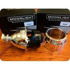 Биксеноновые линзы Moonlight G5 Super - 2.5 дюйма