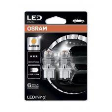 Светодиодные лампы Osram 7915YE-02B W21/5W LEDriving Premium Yellow 12V
