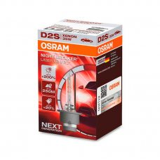 Ксеноновая лампа D2S Osram 66240XNL Xenarc Night Breaker Laser +200%