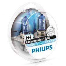 Галогенная лампа H4 Philips 12342DVS2 DiamondVision