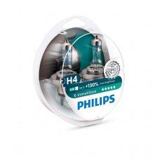 Галогенная лампа H4 Philips 12342XV+S2 X-treme Vision +130%