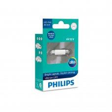 Светодиодные лампы SV8,5 (Festoon 38) Philips 11854ULWX1 Ultinon LED 6000K