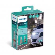 Cветодиодные лампы H11 Philips 11362U50CWX2 Ultinon Pro5000 HL +160%
