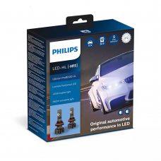 Cветодиодные лампы H11 Philips 11362U90CWX2 Ultinon Pro9000 +250%