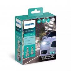 Cветодиодные лампы H4 Philips 11342U50CWX2 Ultinon Pro5000 HL +160%
