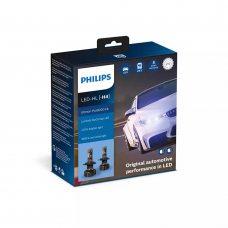 Cветодиодные лампы H4 Philips 11342U90CWX2 Ultinon Pro9000 +250%