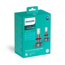 Светодиодные лампы H11, H8, H16 Philips 11366ULWX2 Ultinon LED для ПТФ