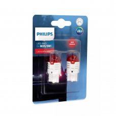Светодиодные лампы W21/5W Philips 11066U30RB2 Ultinon Pro3000 (Red)