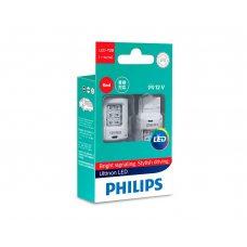 Світлодіодні лампи W21W Philips 11065ULRX2 Ultinon LED (Red)