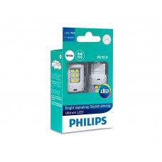 Светодиодные лампы W21W Philips 11065ULWX2 Ultinon LED (White)