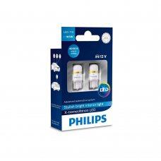 Светодиодные лампы W5W T10 Philips 127994000KX2 X-tremeUltinon LED 4000K