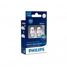 Светодиодные лампы W5W T10 Philips 127996000KX2 X-tremeUltinon LED 6000K