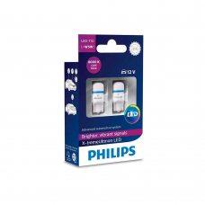 Светодиодные лампы W5W T10 Philips 127998000KX2 X-tremeUltinon LED 8000K