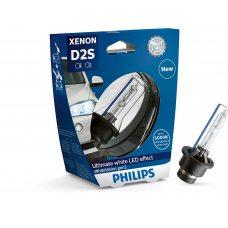 Ксеноновая лампа D2S Philips 85122WHV2S1 WhiteVision gen2 (блистер)