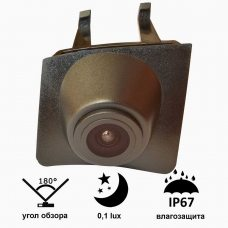 Камера переднего вида для BMW X3 2013+ Prime-X C8043W